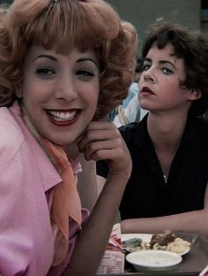 Grease (1978) -- Didi Conn and Stockard Channing