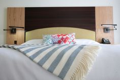 Boutique Hotel Design, Custom headboard
