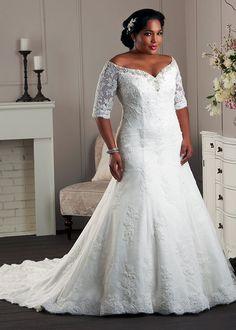 Plus Size Wedding Dresses By Bonny Bridal | The Unforgettable Collection