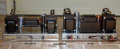 amplifier KITs page Valve Amplifier, Audio Speakers, Vacuum Tube, Diy Electronics, Brushed Stainless Steel, Audio Amplifier