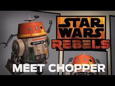 ▶ Star Wars Rebels: Meet Chopper, Grumpy Astromech Droid - YouTube