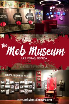 The Mob Museum pays homage to the history of Las Vegas, organized crime, casino heists, scandals, and the heroic law enforcement efforts over the years. Las Vegas Tips, Las Vegas Vacation, Las Vegas Hotels, Las Vegas Nevada, Vacation Trips, Vacations, Valentines Day Massacre, Museums In Las Vegas, Vegas Birthday