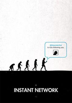 Minimalist Evolution Posters | Creative Greed