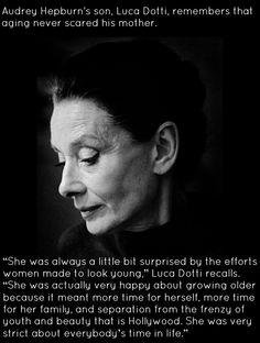 Vanity Fair -  APRIL 2, 2013 Luca Dotti interview about his mother, Audrey Hepburn Photograph: Victor Mentzel (1988)