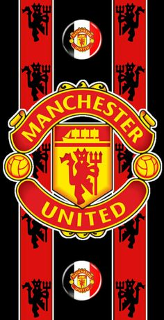 Manchester Logo, Manchester United Wallpaper, Manchester United Football, Football Team Logos, Apple Wallpaper, Team Photos, Man United, The Wiz, Soccer
