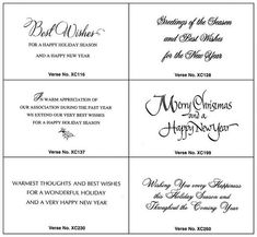 Best Wishes Christmas Card Sayings for Business