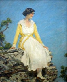 'Summer Day' by Charles Courtney Curran