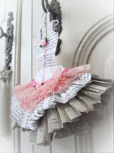 Paper Ballet Dress