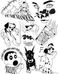 Tattoo Sketches, Tattoo Drawings, Body Art Tattoos, Ship Tattoos, Gun Tattoos, Ankle Tattoos, Arrow Tattoos, Word Tattoos, Tattoo Flash Sheet