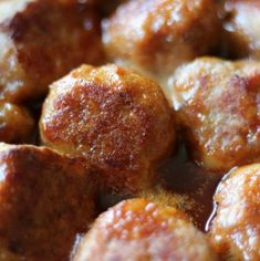 Ham Balls are a classic Midwest potluck dish. Ham meatballs covered in a sweet tangy sauce. Ham Balls, Ham Loaf, Graham Cracker Recipes, Potluck Dishes, Balls Recipe, Graham Crackers, Farmhouse Table, Freezer Meals, Casserole Dishes