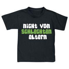 Nicht von schlechten Eltern T-Shirt schwarz • EMP