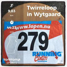 Twirreloop in Wytgaard. 10 km pacen voor Jos de Bruin in 44:23.