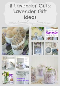 11 Lavender Gifts: Lavender Gift Ideas - Dandelion Patina