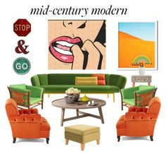 """Sin título #47"" by italianspanishwoman on Polyvore featuring interior, interiors, interior design, hogar, home decor, interior decorating, Anya Hindmarch, West Elm, Sunnylife y Norell"
