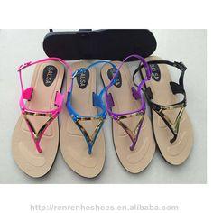4d1ccd76e 2017 cheap fashion PVC women flip flops sandals Cheap Fashion