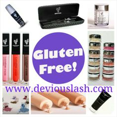 Get your gluten free makeup today!! www.deviouslash.com Free Products, Health Products, Gluten Free Makeup, Younique, Leather And Lace, Girly Things, Hair Beauty, Girl Things