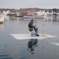 1000 images about maine on pinterest ice storm ice for Ice fishing maine