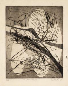Stanley William Hayter 'Myth of Creation', 1940 © ADAGP, Paris and DACS, London 2015