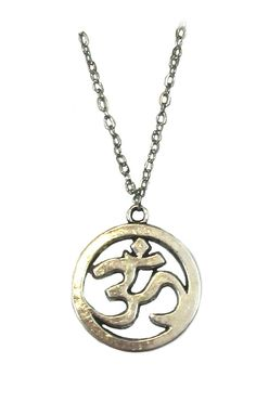 Li-Jacobs Antiqued Silver Om Ohm Aum Symbol Charm Pendant Necklace Fashion Jewelry. A unique antique silver plated OM pendant necklace for both men and women. Necklace is 2 mm thick and 24 inches long with lobster clasp. Pendant is 2.5 cm wide or diameter. Comes with beautiful Li-Jacobs Collection Just for You card and luxury gift envelope. Perfect for any gifts occasion like birthday, Christmas, Mother's Day, anniversary and your Valentine and more...It is also an ideal gift for mother...