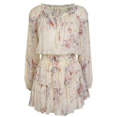 Shop the LoveshackFancy Popover Floral Dress and more from the designer collection now! Long Sleeve Floral Dress, White Floral Dress, Designer Collection, Dress Collection, Preppy Summer Outfits, Layered Skirt, Complete Outfits, Fancy Dress, Fashion News