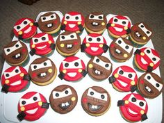 Cars cupcakes  Cake by Dialasweetcakes