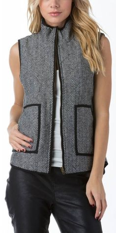 Flat out obsessed with this vest.