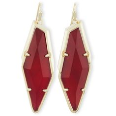 Kendra Scott Bexley Statement Drop Earrings (4.940 RUB) ❤ liked on Polyvore featuring jewelry, earrings, maroon, 14 karat gold earrings, navy jewelry, 14 karat gold jewelry, navy earrings and 14k earrings