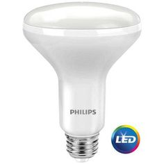 Philips LED Dimmable Flood Light Bulb, BR30, Soft White, 65 WE, 3 Ct