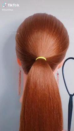 Hair Up Styles, Medium Hair Styles, Natural Hair Styles, Bun Hairstyles For Long Hair, Braided Hairstyles, Hair Hacks, Hair Videos, Hair Designs, Hair Makeup