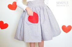 Simple Simon & Company: A Valentine Skirt.