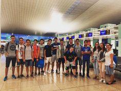 Preparados para la aventura! Salida del programa #bournemouth en el aeropuerto de #Barcelona #WeLoveBS #Idiomas #Inglés #verano #Cursos #Travel #Language #Summer #Amigos #Friends