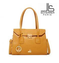 Soldes Placedubonheur.com 19.90€ Sac a main type cabas Jean Louis SCHERRER  Camel
