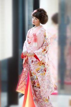 Pretty,芸者, sakura, 桜, yukata