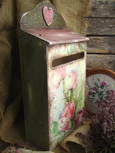 """MARINA NIKULINA : """"В зарослях чертополоха...."""" почтовый ящик"""