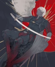 Character Concept, Character Art, Concept Art, Dante Devil May Cry, Dmc 5, Bayonetta, Girls Anime, Dark Souls, Anime Style