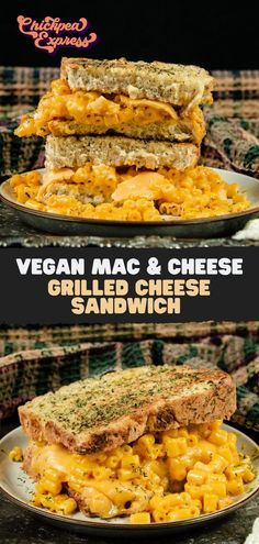 The best vegan grilled cheese is made with vegan cheese slices and vegan mac and cheese! On Thanksgiving stuffing bread for a cozy, fall touch!   #vegan #veganfood #veganrecipe #plantbasedrecipe #plantbased #healthy #healthyrecipe #nutrition #vegandiet #macandcheese #veganmacandcheese #macandcheeserecipe #grilledcheese #vegangrilledcheese #grilledcheesesandwich #stuffing #veganstuffing #junkfood #comfortfood #veganmeal #vegandinner #veganlunch #kidfriendlyrecipe #vegankid #vegandinnerideas