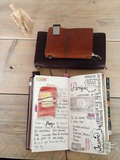 Paris & My Midori Travelers Notebook Travel Journal Pages, Book Journal, Art Journals, Bullet Journal, Travel Journals, Bujo Inspiration, Art Journal Inspiration, Journal Ideas, Travelers Notebook