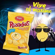 Comparte con tus amigos el #crunch intenso de #Rizadas Mayonesa
