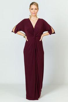 Paloma Maxi Dress - Mulberry - P.S. Frocks