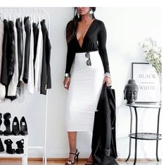 Black and white simplicity