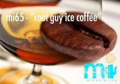 "mi65 - ""cool guy ice coffee""   .    . espresso kwaliteit koffie I cognac I koffie likeur I suiker Iced Coffee, Ice Cream, Beef, Food, Sherbet Ice Cream, Meal, Essen, Hoods, Ox"