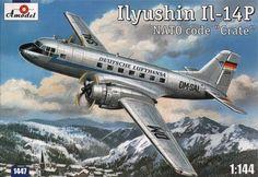 Ilyushin Il-14P. A Model, 1/144, injection, No.1447. Price: 14,68 GBP.
