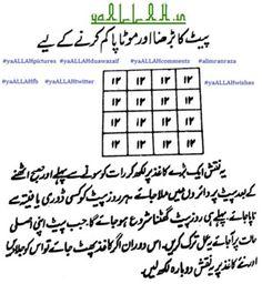 Islamic Wazaif to Loose Weight and Belly Fat-1- yaALLAH.in