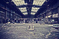 Subrealismo industrial Alquife Mine.Spain.