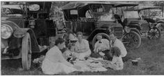 Barber Colman Co. picnickers, 1917 :: Images of Loves Park, Machesney Park and Roscoe