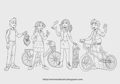 Nacho Subirats: Character design
