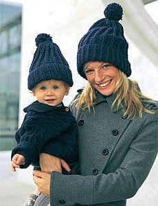 Pudelmütze stricken: Kopfarbeit für die Familie (Seite 4) - BRIGITTE.de