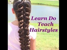 An absolutely amazing 5 Strand Braid by Kerry Lane! Watch the video tutorial! - The HairCut Web Funky Braids, Braided Hairstyles, Cool Hairstyles, 5 Strand Braids, Hair Decorations, Beautiful Braids, Hair Shows, Girls Braids, Toddler Hair