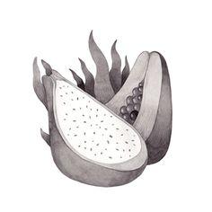 Inktober, Day 4. Olga Svart Illustration