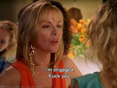 "The last single girl? 80 Of Samantha Jones' Best Moments On ""Sex And The City"" City Quotes, Movie Quotes, Samantha Jones Quotes, Single Girl Quotes, Pretty Things, Carrie Bradshaw, Movies And Tv Shows, Movie Tv, Tv Series"